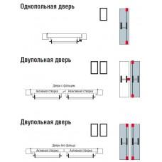 Варианты монтажа Антипаники