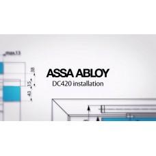 Установка и регулировка напольного доводчика ASSA ABLOY модели DC 420. Видео с завода. И видео монтажа.