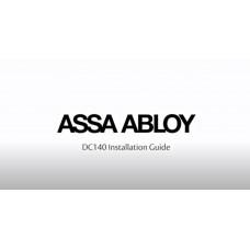 Установка и настройка дверного доводчика ASSA ABLOY DC140