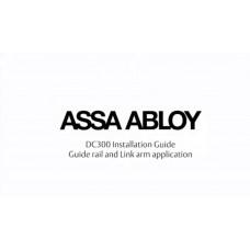 Установка и регулировка доводчика ASSA ABLOY DC300