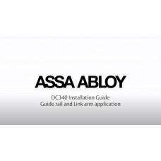 Установка и регулировка доводчика ASSA ABLOY DC340