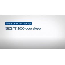 Как установить и отрегулировать Доводчик GEZE TS 5000